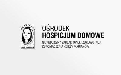 Wspieramy Ośrodek Hospicjum Domowe